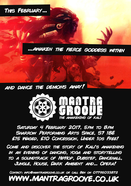 Mantra Groove Kali's The Awakening of Kali Back