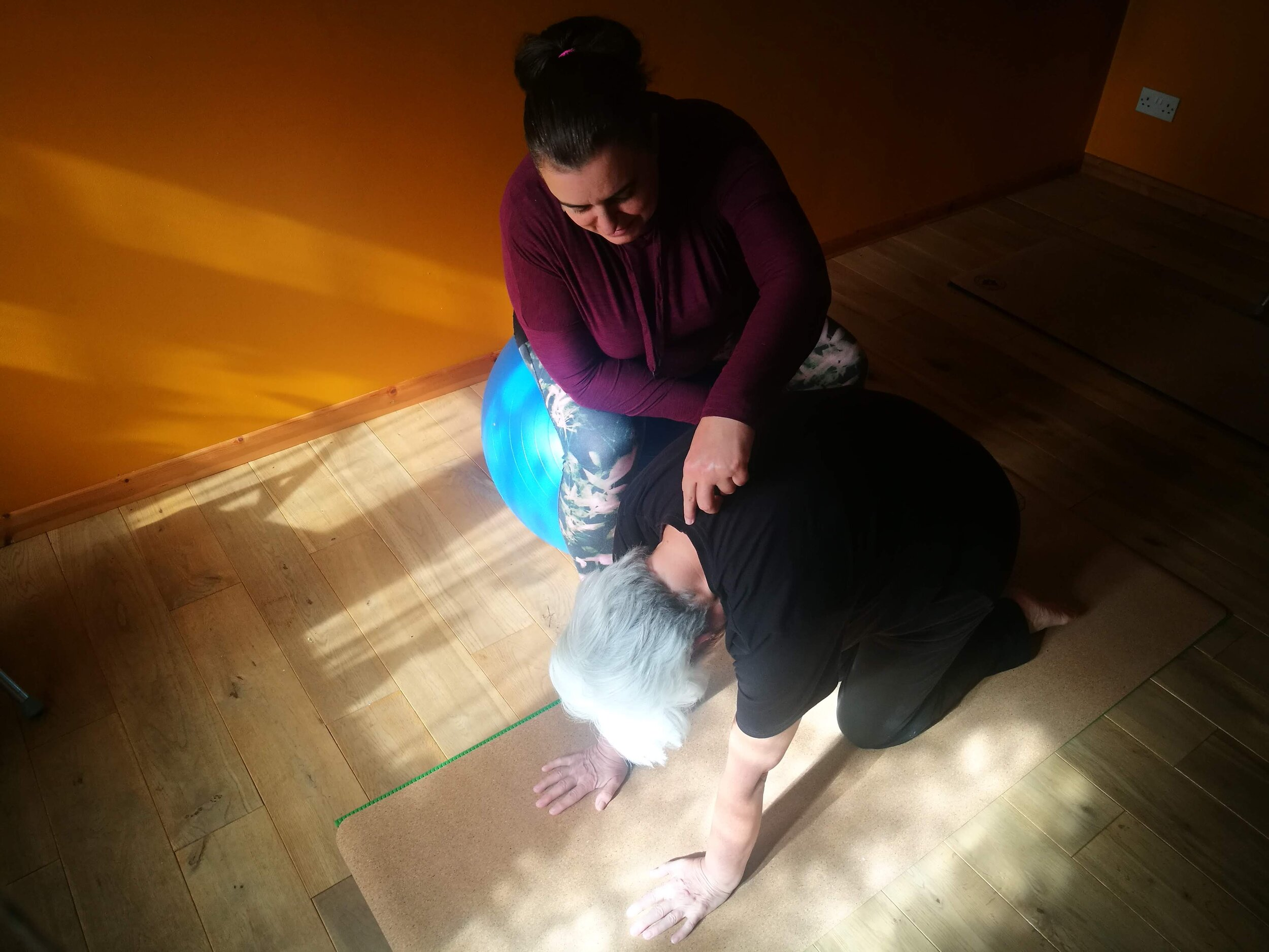 121s & YOGA THERAPY FOR BACK CARE