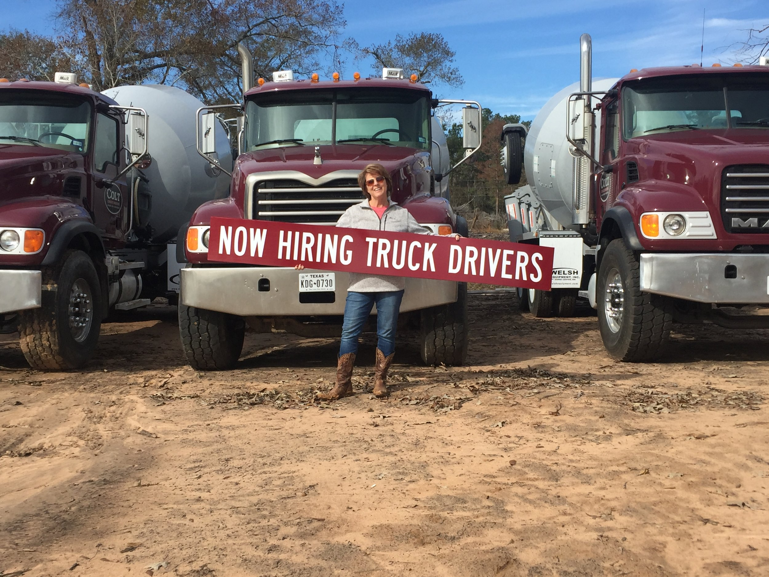 NOW HIRING CLD DRIVERS  -