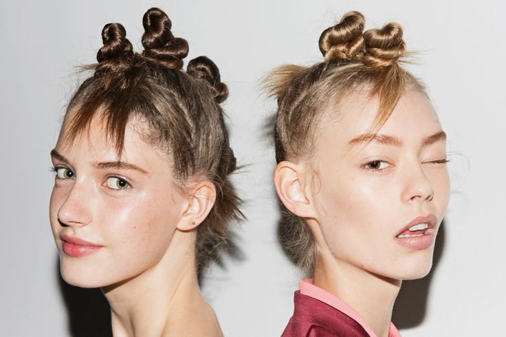 Marc Jacobs just being a genius and inventing Bantu knots.