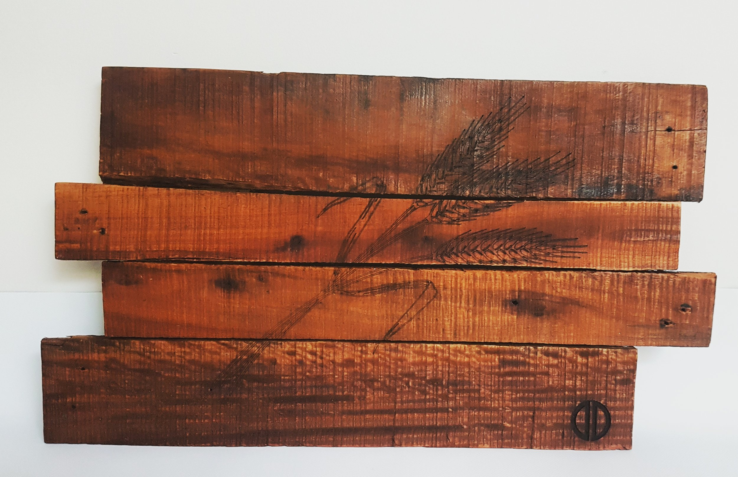 Large Laser Engraved Pieces  - Can be made from either deconstructed pallets, barn board or new lumber. These large laser engraved pieces are mountable and a real statement piece for any room.