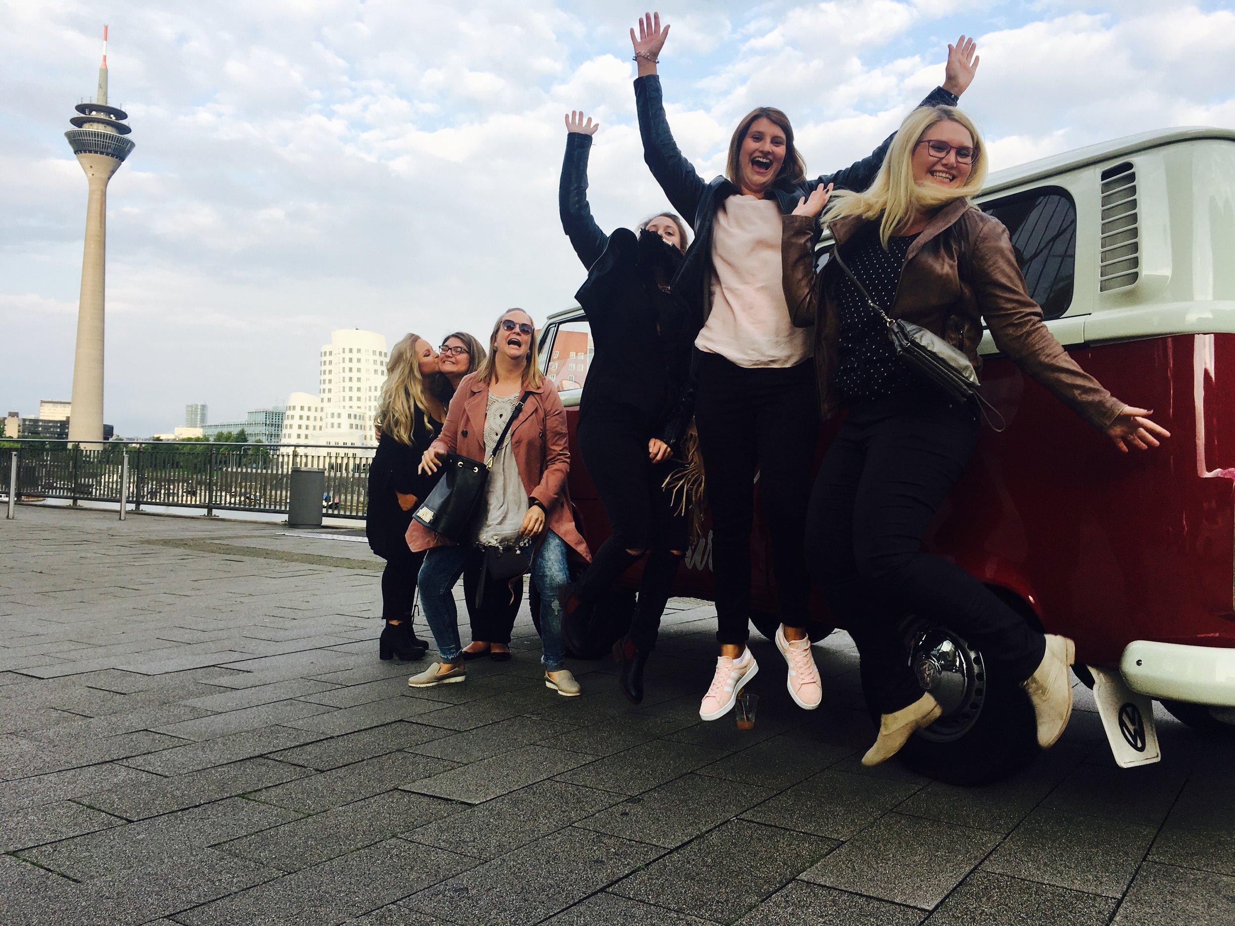 Girlstour in Düsseldorf