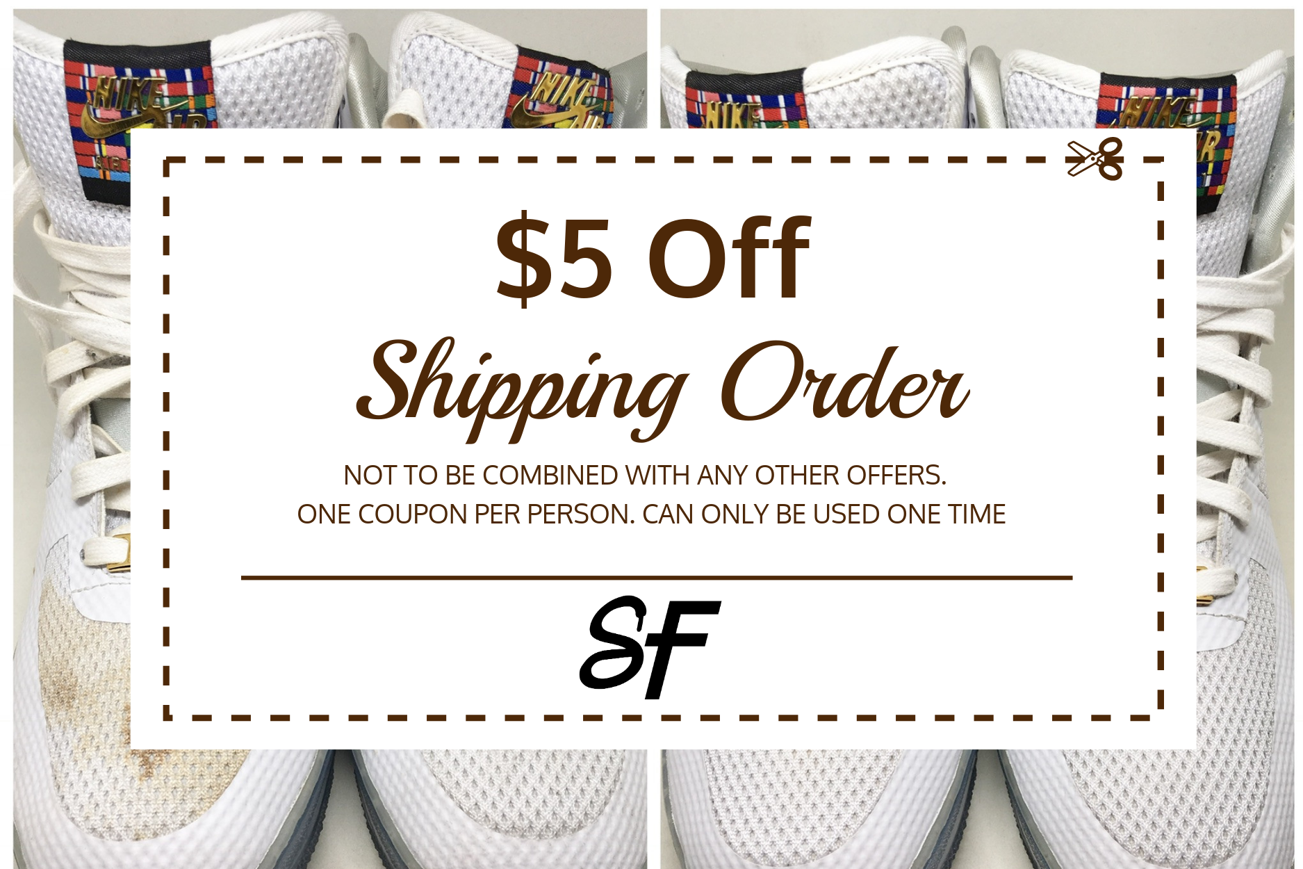Please mention this promotion in the message section when completing the shipping form to get $5 Off your shipping price.