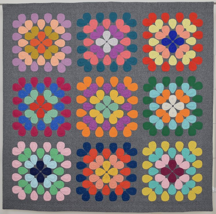 Sourced from Modern Quilt Guild   - Fauchet by Ginny Robinson
