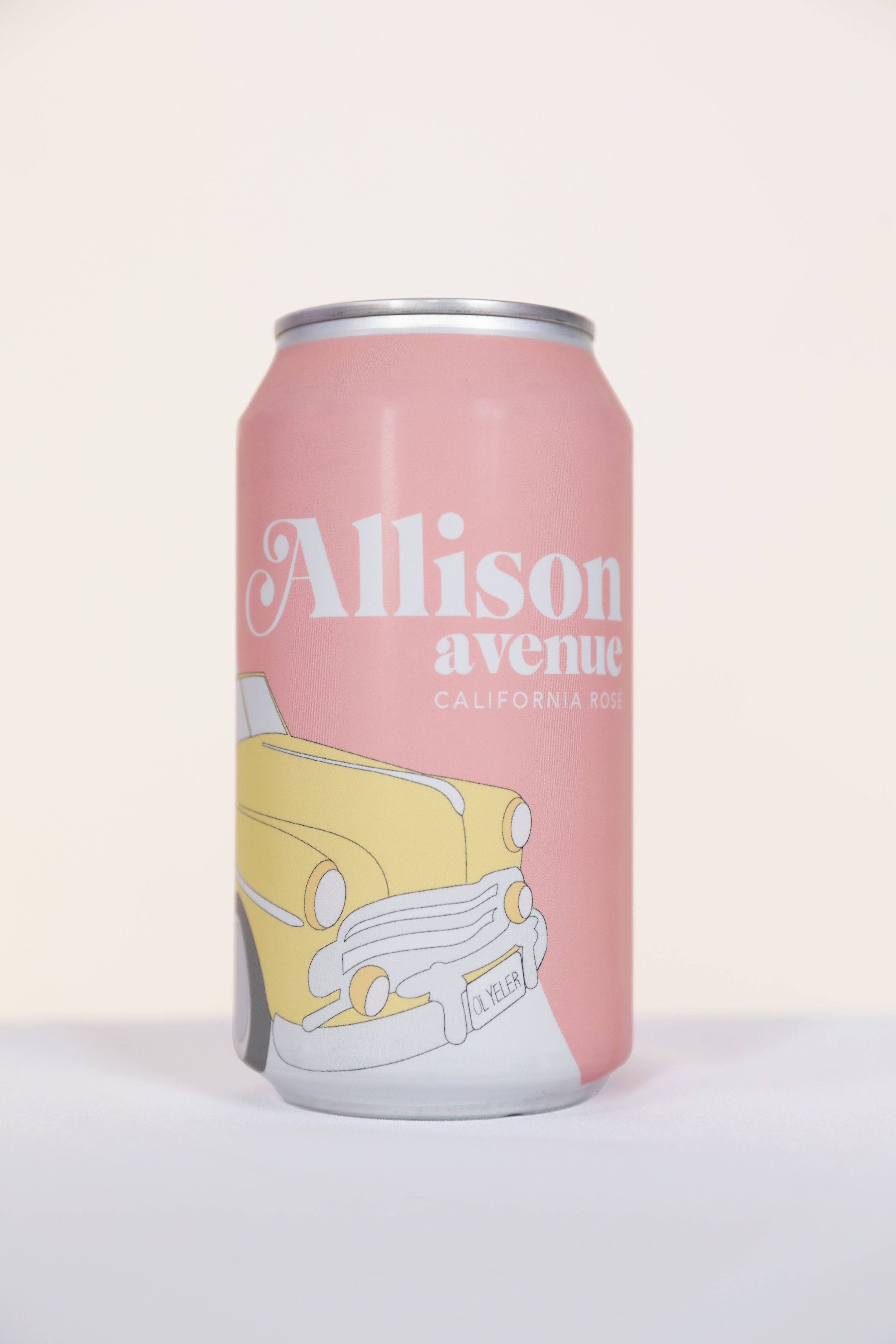 Allison Avenue - Allison Avenue brings you a full-bodied Napa Valley rosé in a can. Made from zinfandel grapes sourced from the Calistoga Appellation's Pocai Vineyard, Allison Avenue favors citrus and pomegranate notes over berry while adding a hint of tartness. Winemaker Bruce Devlin says that this rosé