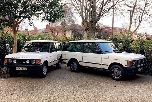 Twining 2-door Range Rovers. #1990s