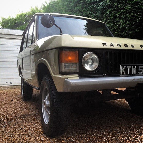 DID YOU KNOW - The original Range Rover concept named the 'Velar', it was the first permanent 4x4 to go 100mph with 5 forward facing passengers. (In the photo, a 1975 Suffix D, in Sahara Dust)