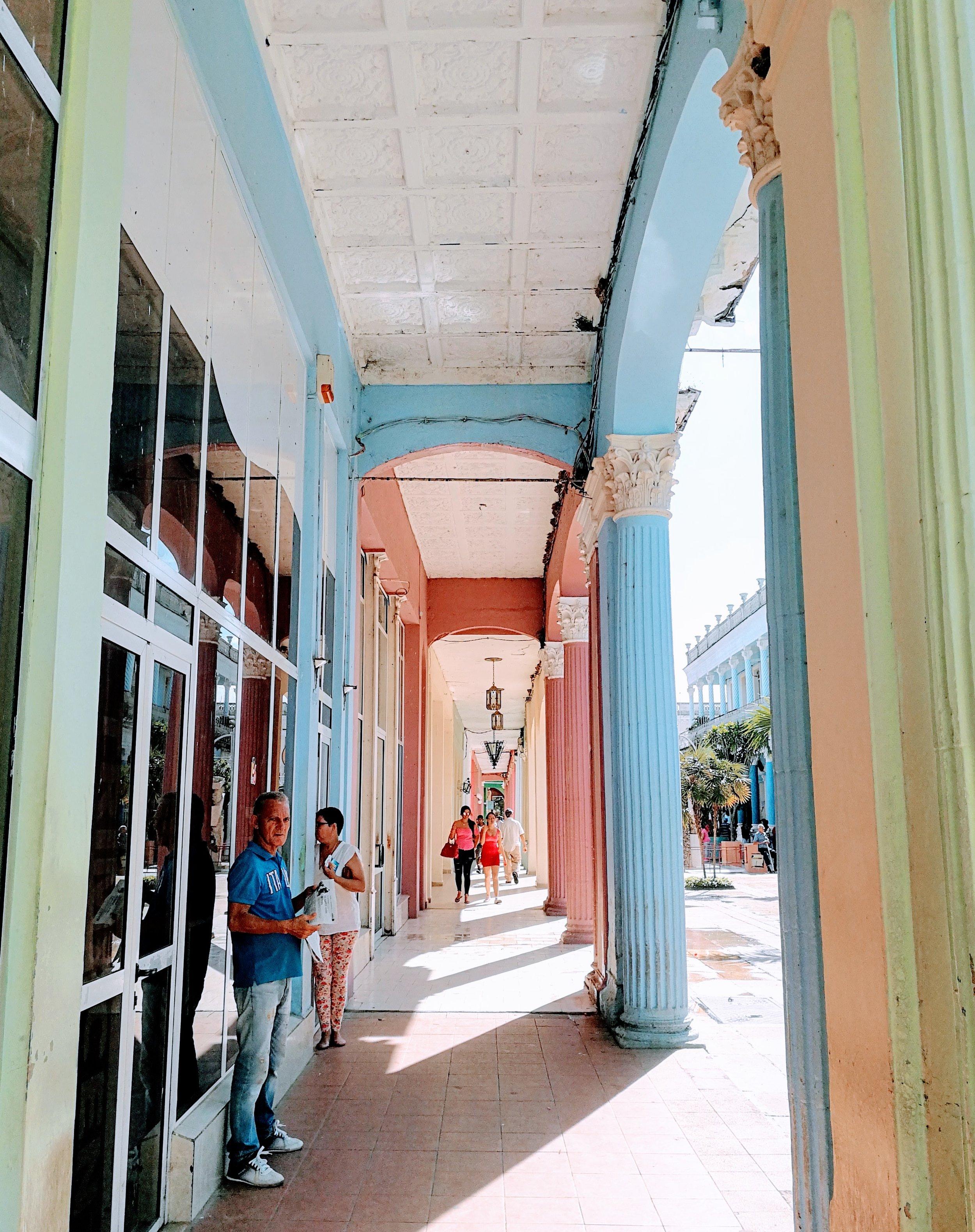 Calle Independencia in Ciego de Avila, Cuba