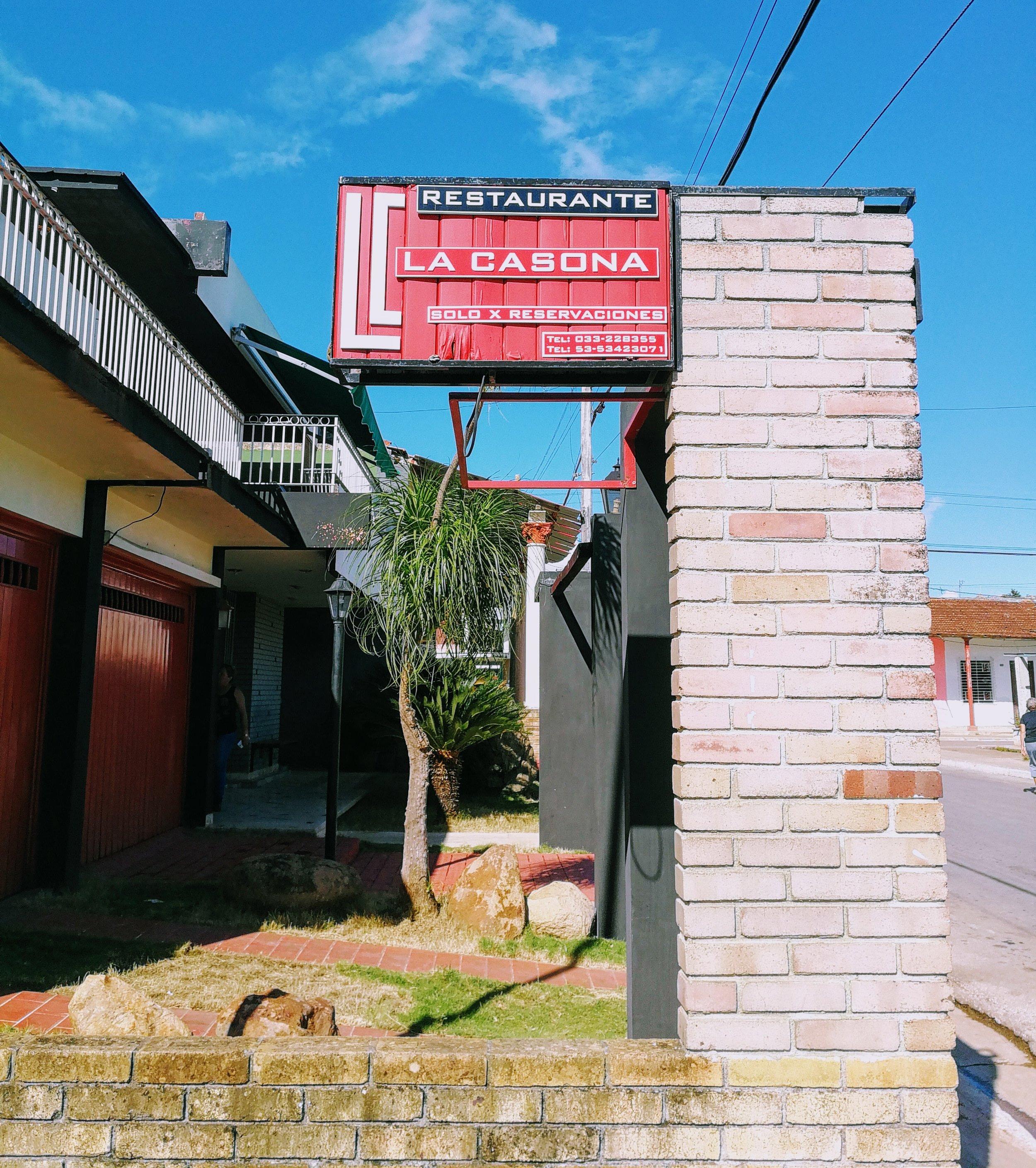 La Casona in Ciego de Avila, Cuba