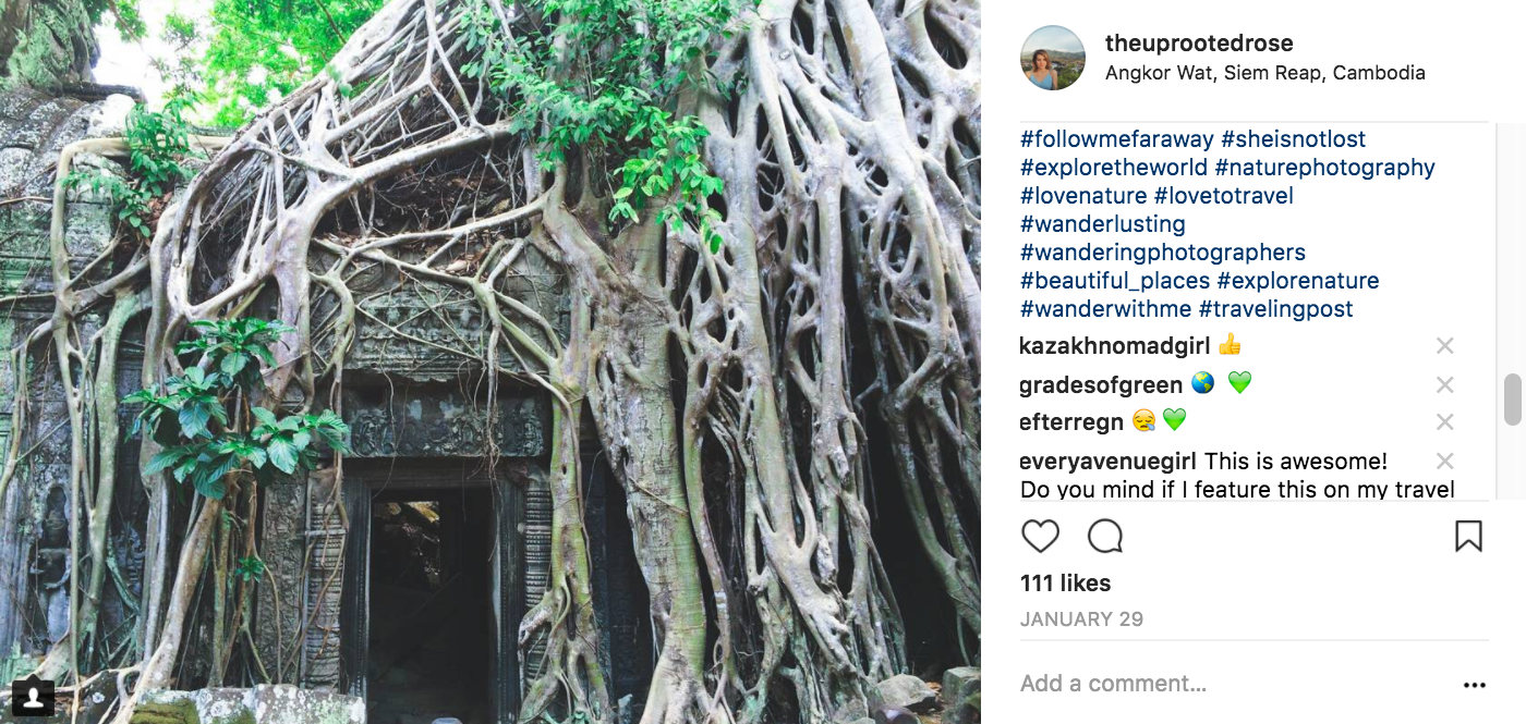 Copy and paste these hashtags on your next Instagram post to get more likes and comments on your travel photos.