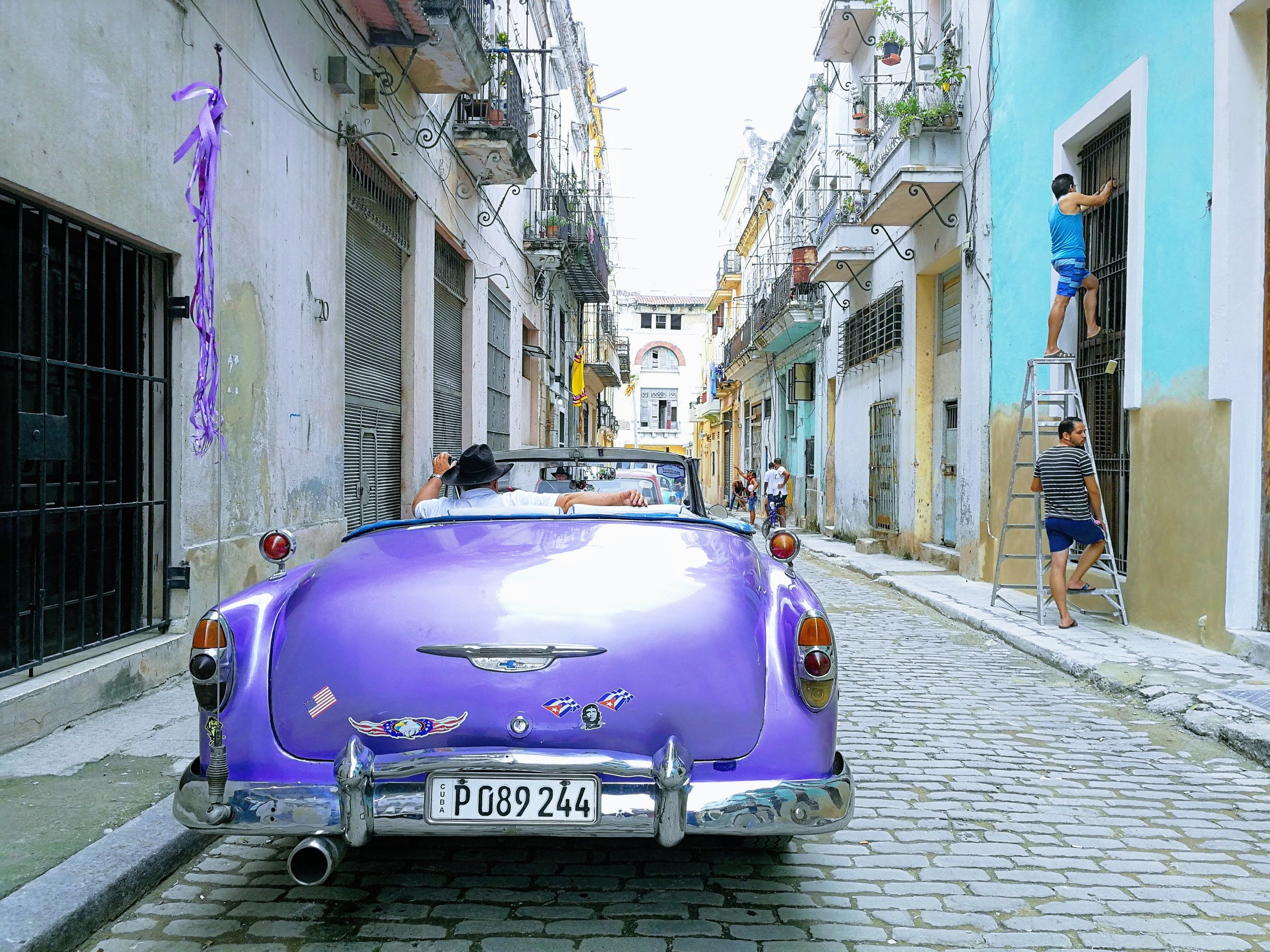 The streets of La Havana, November 2018
