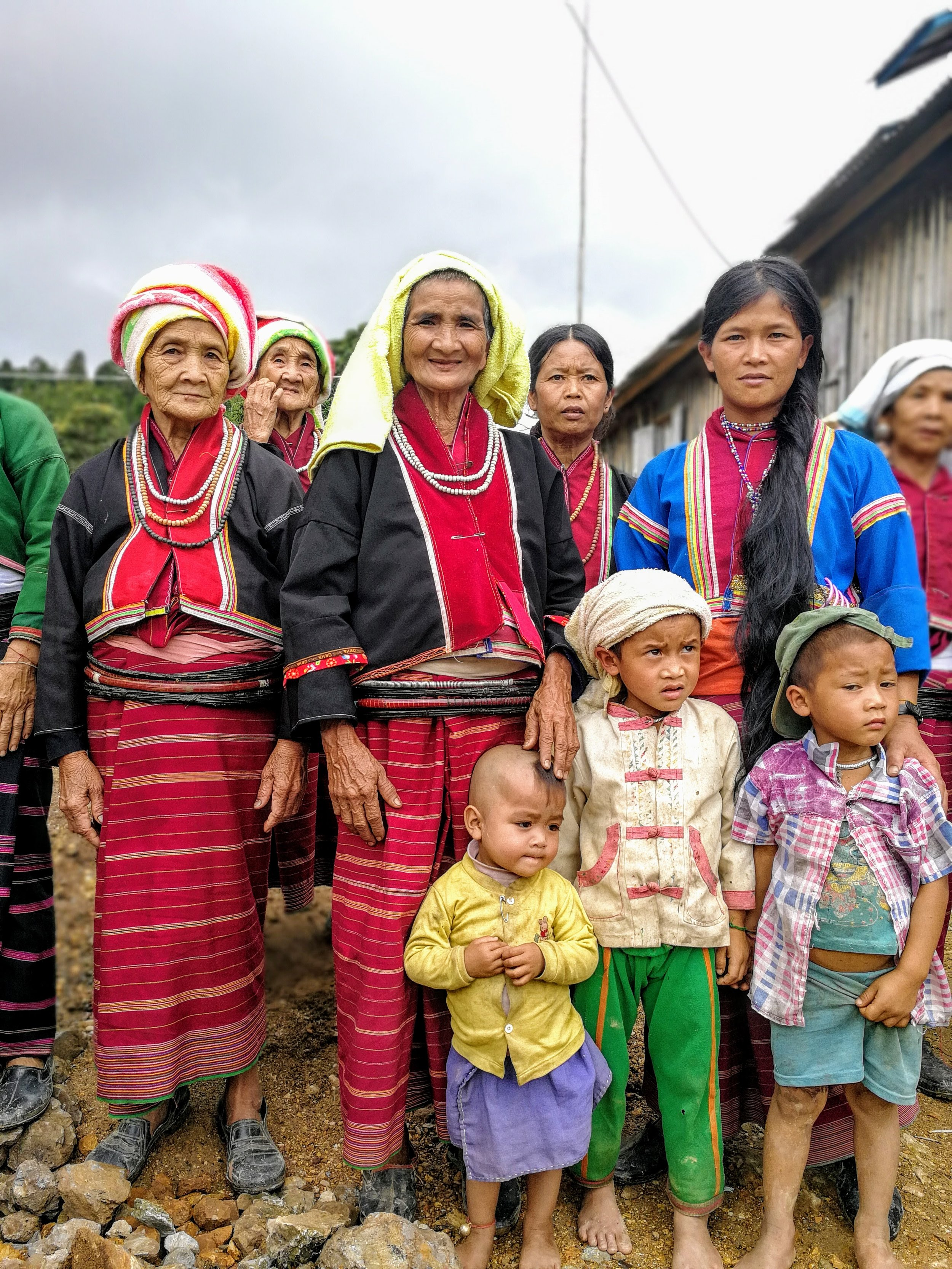 A group of women from the Palaung ethnic group in Northern Shan State. I took this photo in th summer of 2017 while visiting a school Build a School in Burma built in partnership with the community.