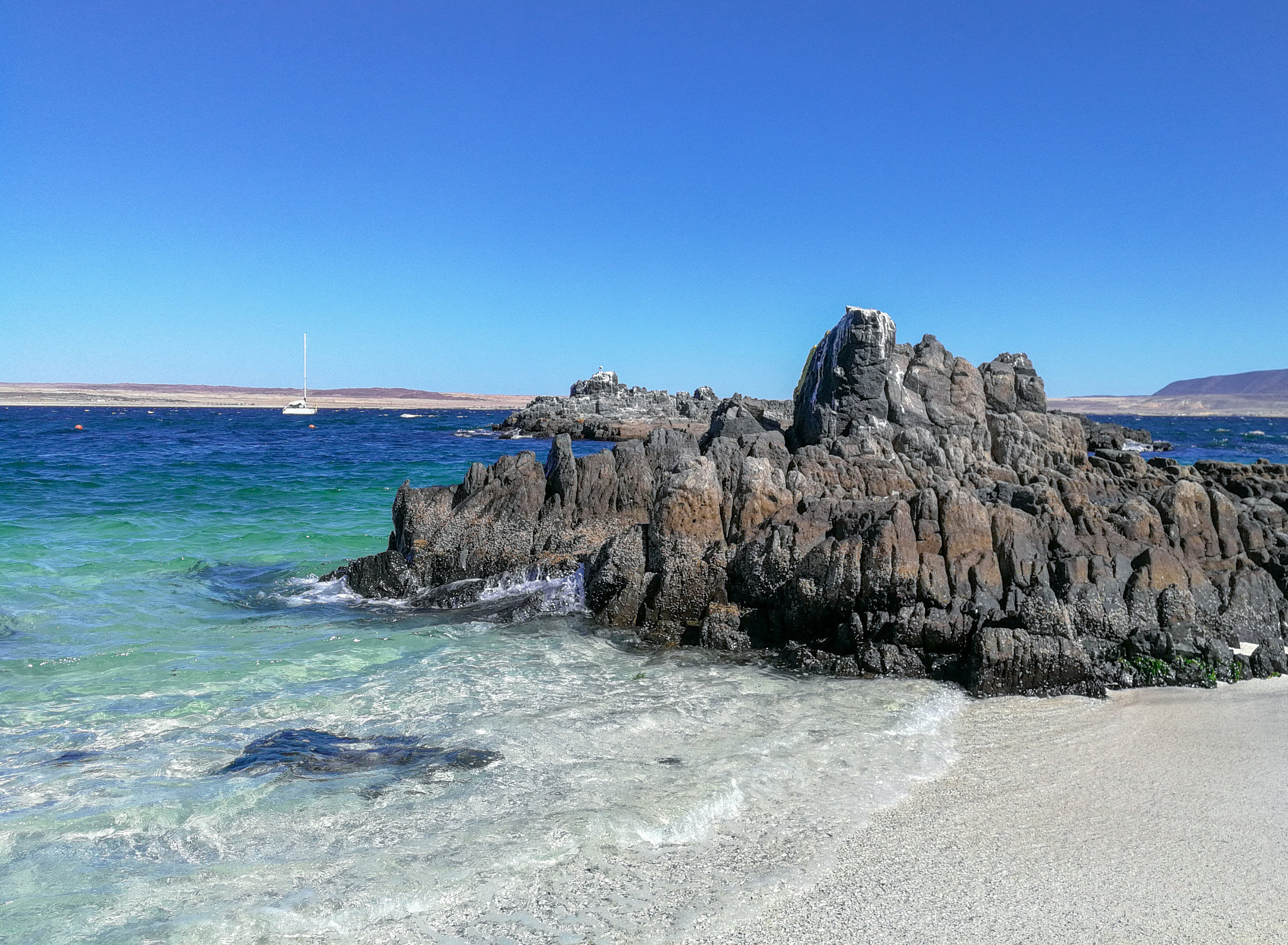 Bahía Inglesa in Chile near Caldera. This beautiful and clean beach on the northern coast of Chile is worth a visit if you are planning vacation. Learn more about ecotourism and traveling in South America here.