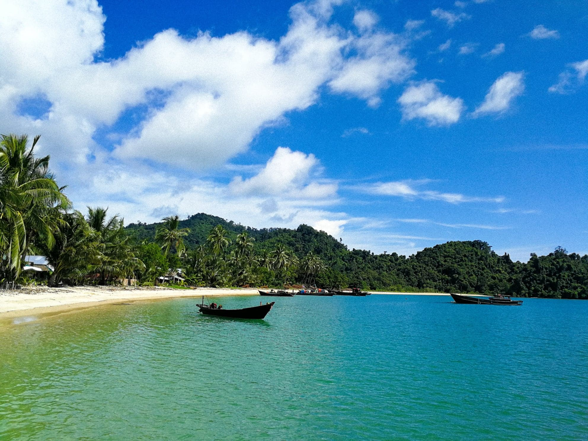 The natural beauty of Myanmar's Mergui Archipelago is unbelievable.