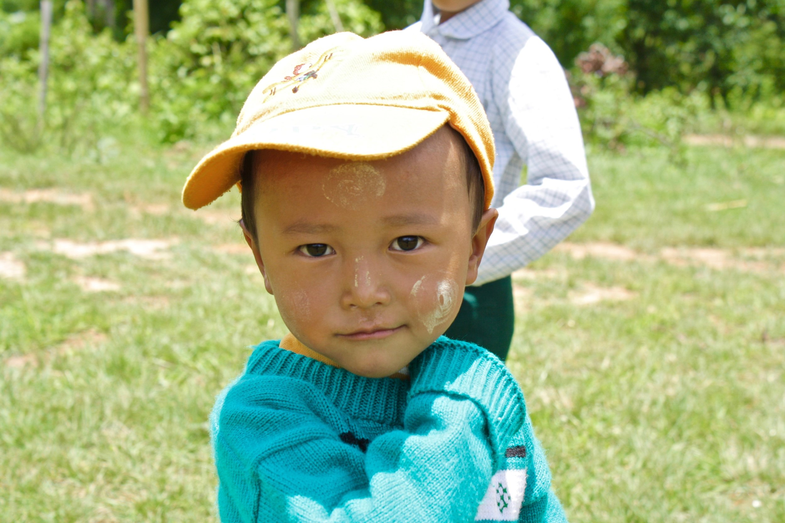 A student in Nan Auw villahe in Shan State. Build a School in Burma built their first school in this village in 2011.