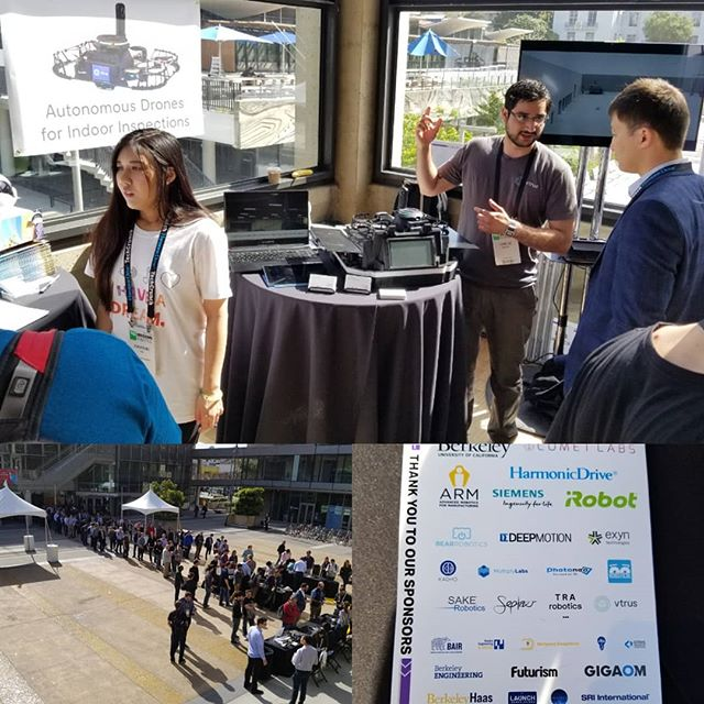 Excited to be showing our technology at TechCrunch Sessions: Robotics 2018! If your in San Francisco, you should come by and check out all the great tech here! #techcrunch  To learn more about ABI and Vtrus visit www.vtr.us