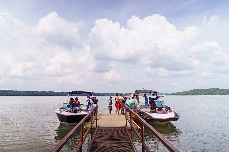 August & Sept. Lake Information - Days: When school begins, Saturday or Sunday will be utilized depending on weatherTime: Kids are on the lake from 11am-5pmLocation: 7 Points Recreation Area, J. Percy Priest Reservoir