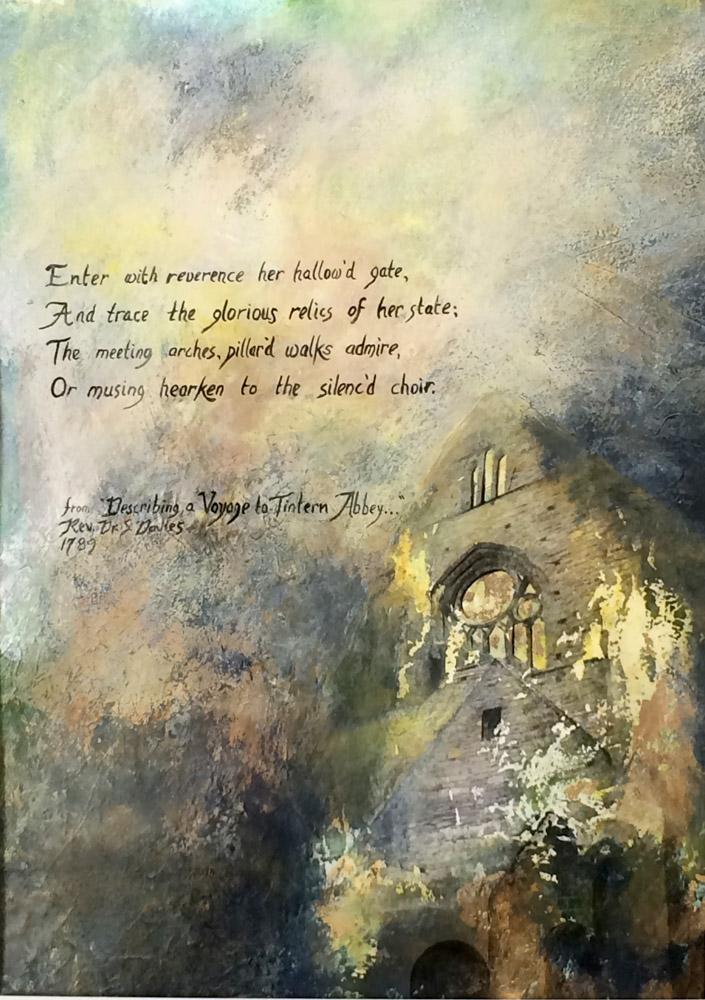 Ruins at Tintern Abbey