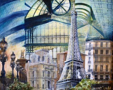 MEMORIES OF PARIS I (SOLD)
