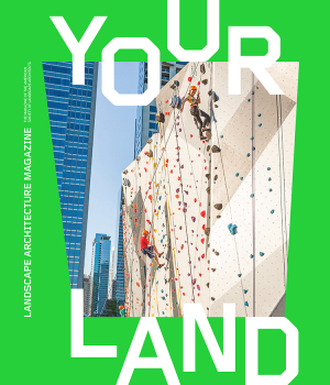 Landscape Architecture Magazine  ( LAM ) has launched   YOUR LAND,     a special print supplement aimed at young readers that provides snapshots of the profession of landscape architecture and examples of several intriguing project types.