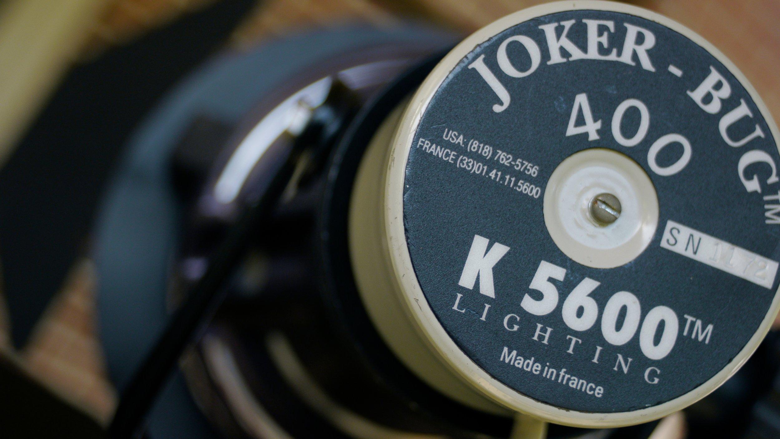 Joker K5600 HMIs deliver a big light punch when needed.