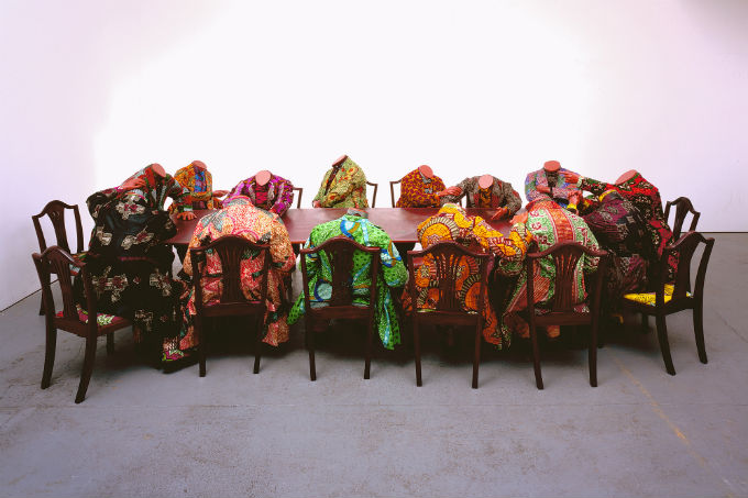 """Yinka Shonibare's """"Scramble for Africa"""""""