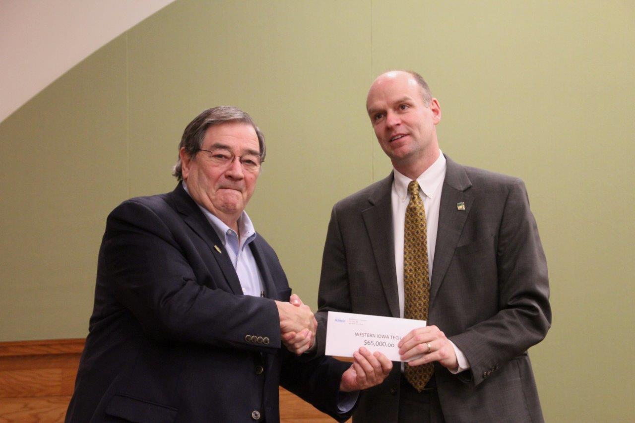 Western Iowa Tech   $65,000