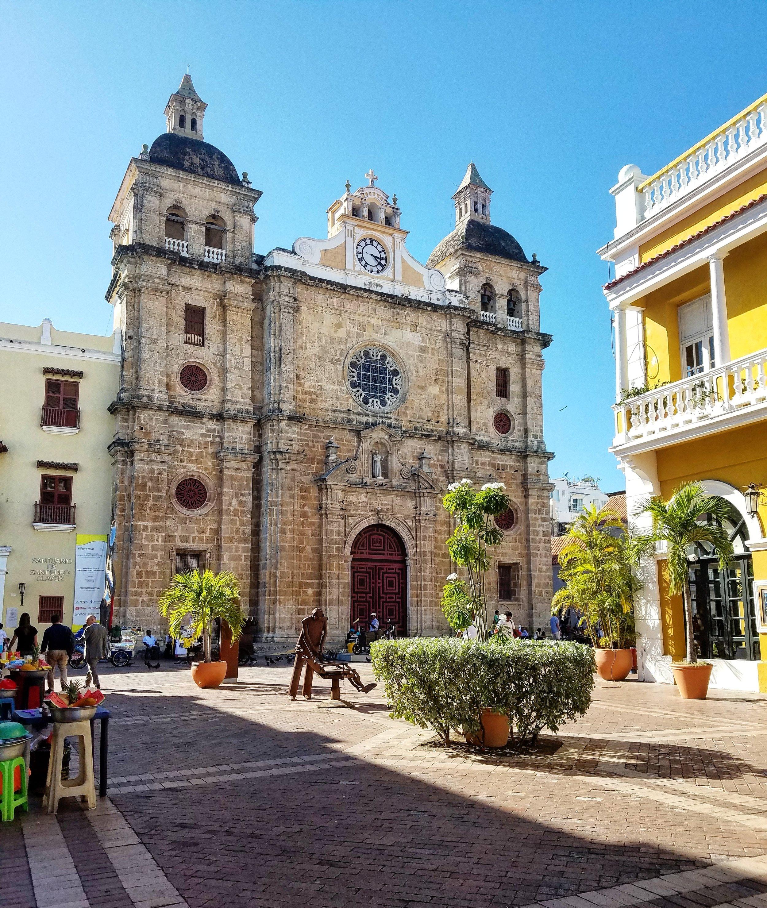 Iglesia San Pedro Claver Cartagena