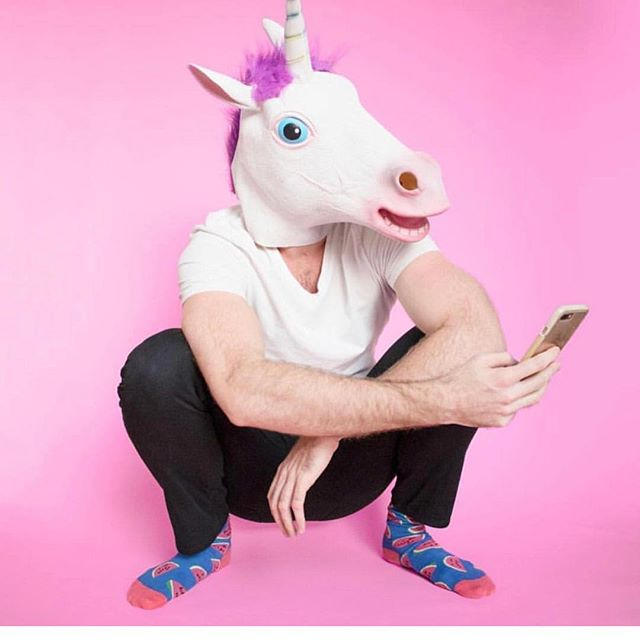 Oh there is the unicorn I have been looking for, and he even texts back. 💗💫💗💫