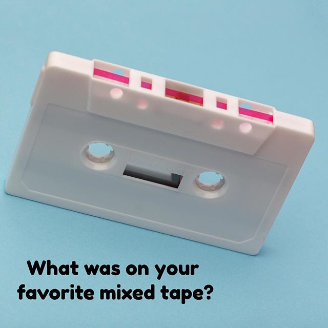 Gasp! Not the mixed tape 😍  I can give one song away: Martika - Toy Soldiers