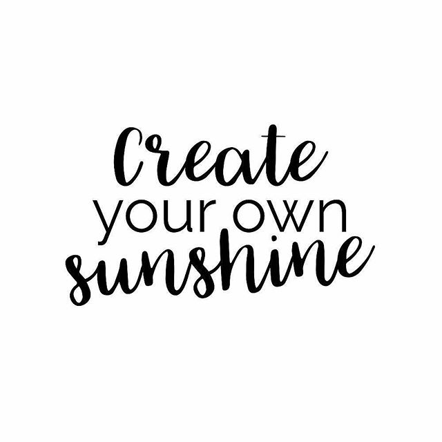 Yasssssss💫 What is the number one way you create your own sunshine? ☀️✨💗