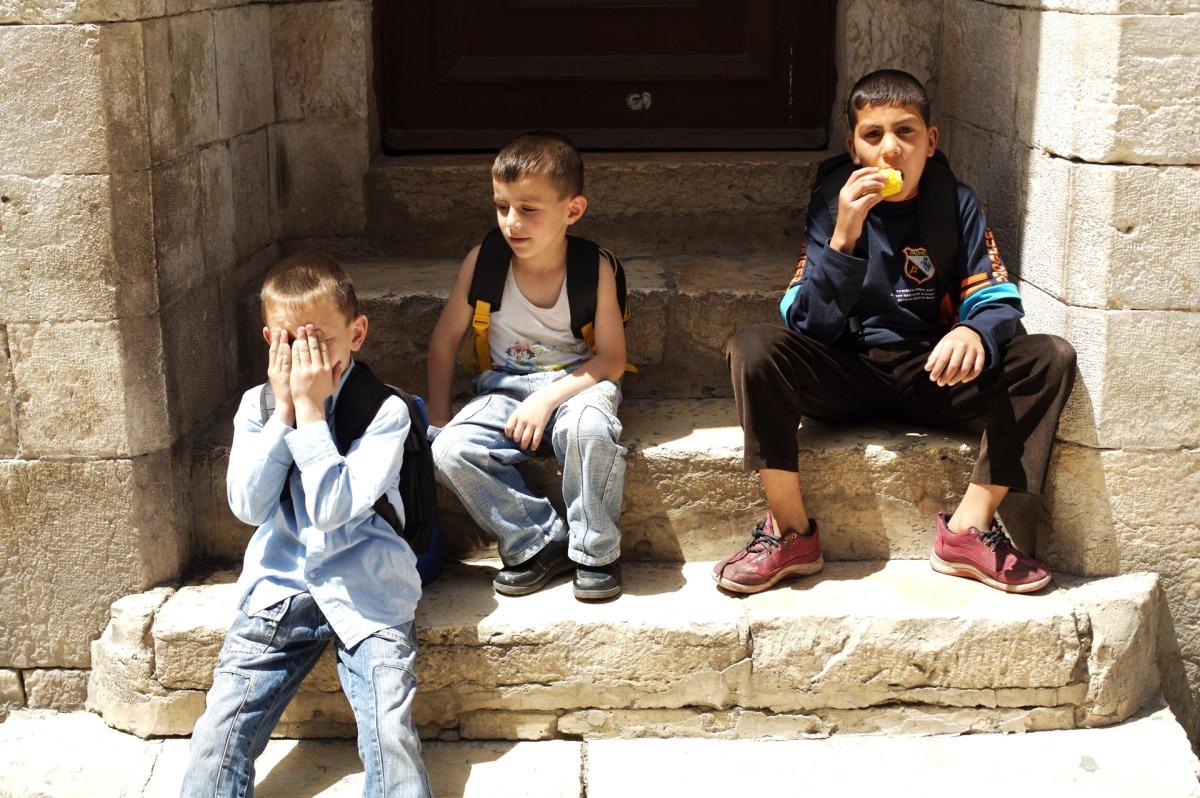 Palestinian Schoolchildren