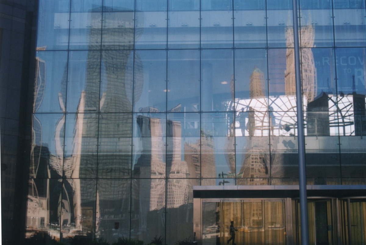 Ground Zero Reflections: New York City