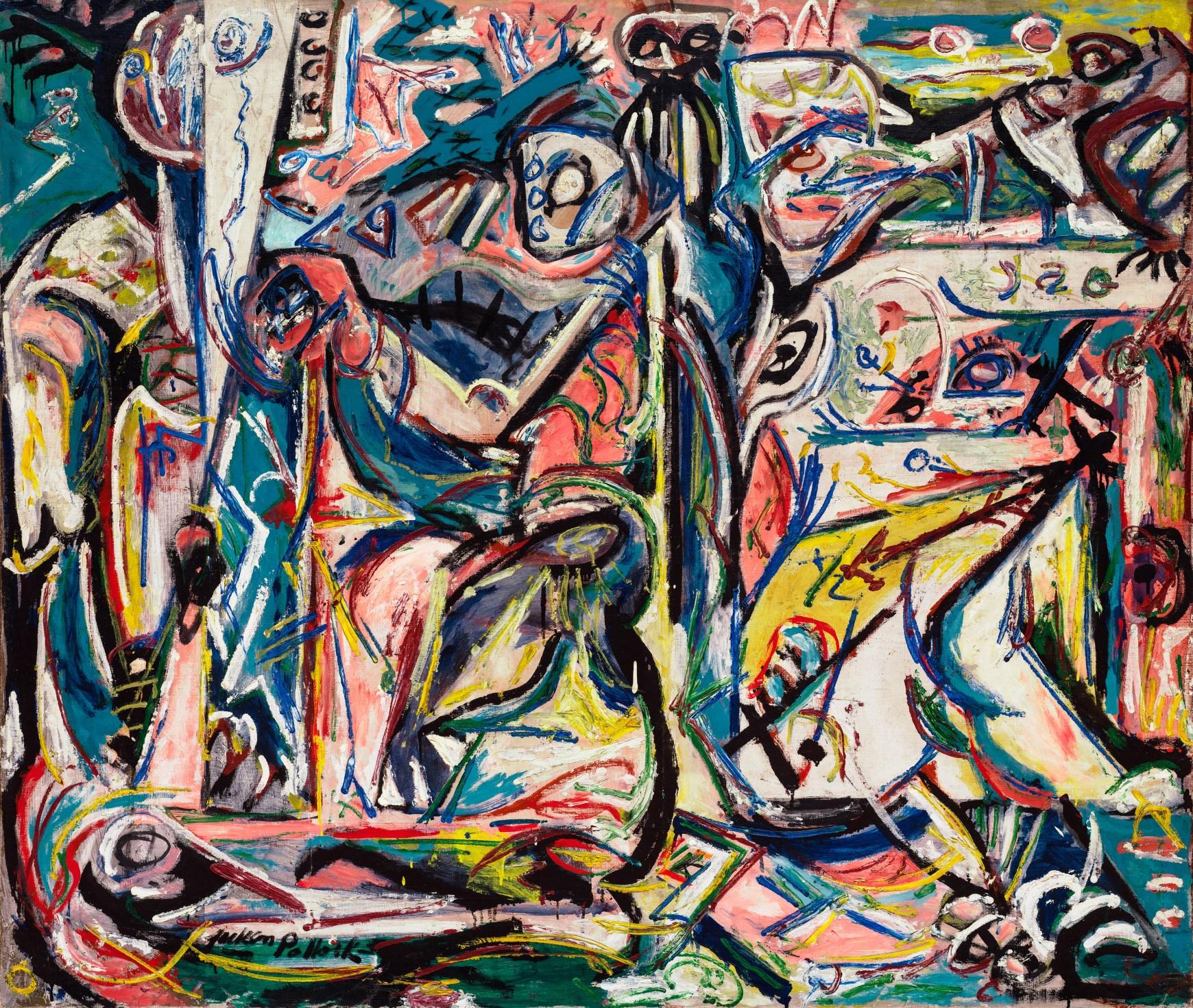 "Jackson Pollock's 1946 Painting ""Circumcision"""
