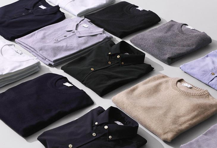 Asket's fantastic range of sustainable menswear