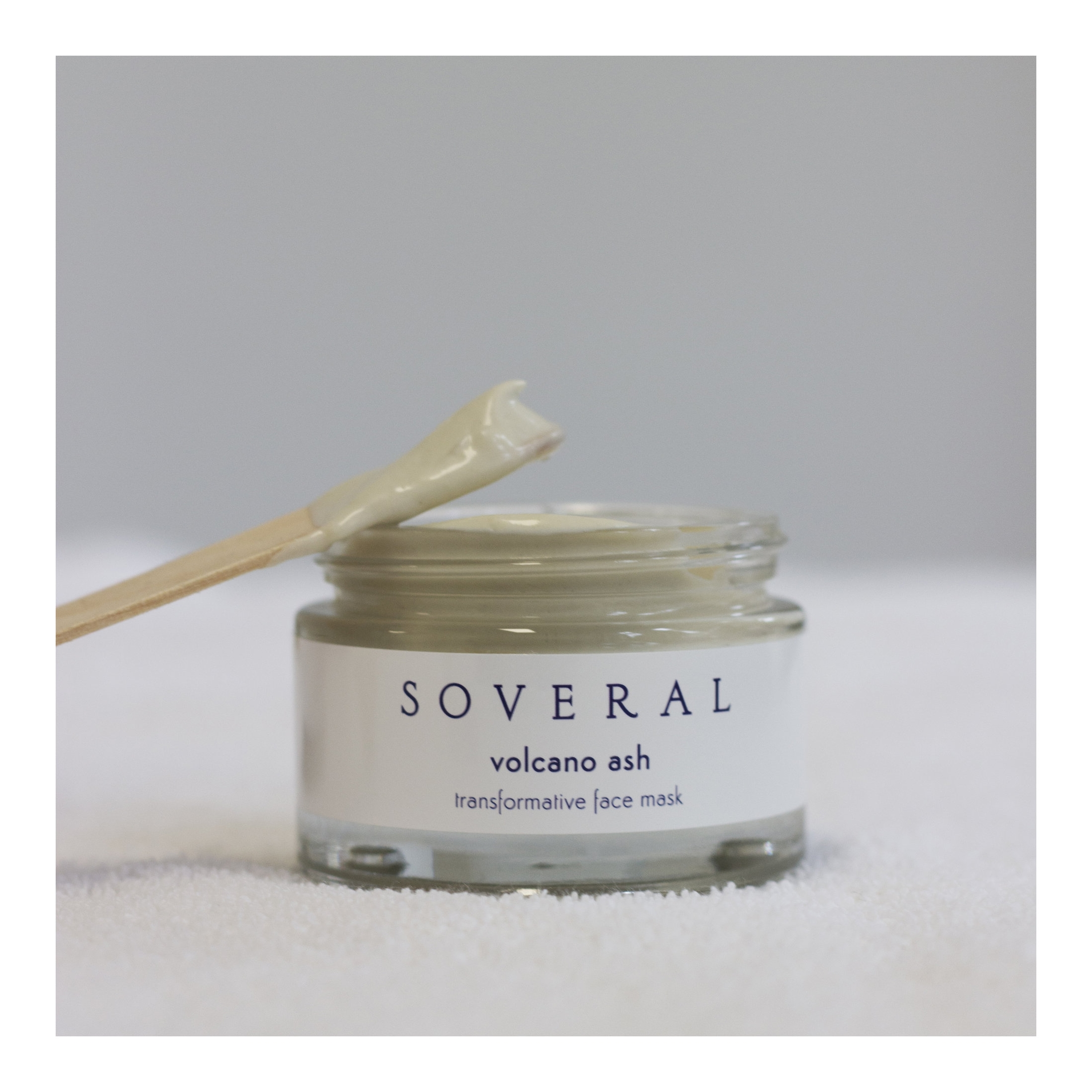 Soveral's 'Volcano Ash' Face Mask