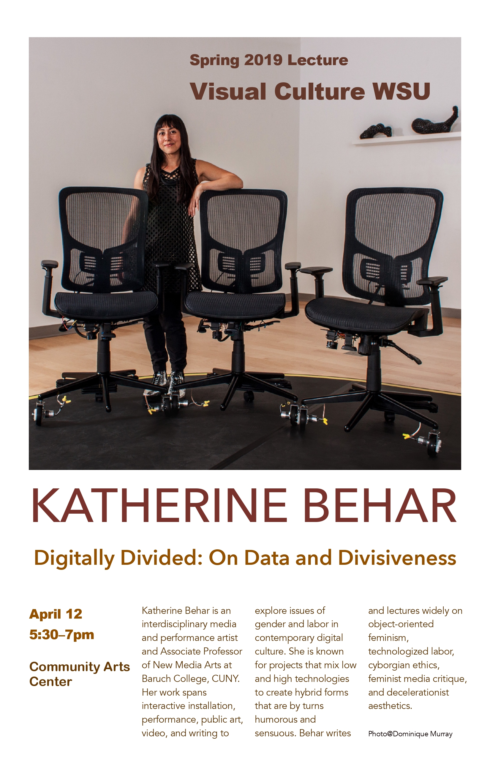 See art from Katherine Behar below and at   katherinebehar.com  .
