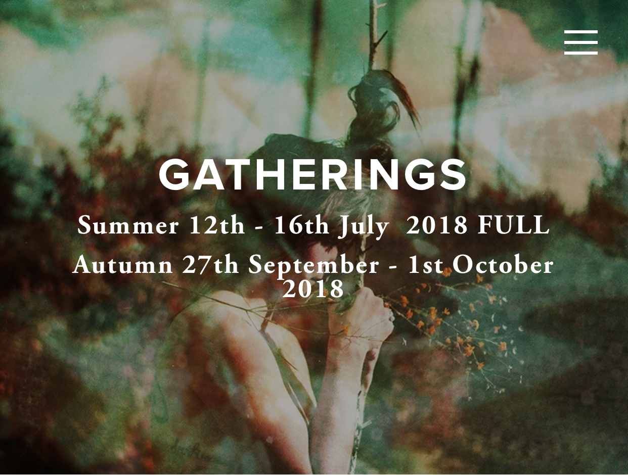 Tea Ceremony at Sisters of The Wild Gathering