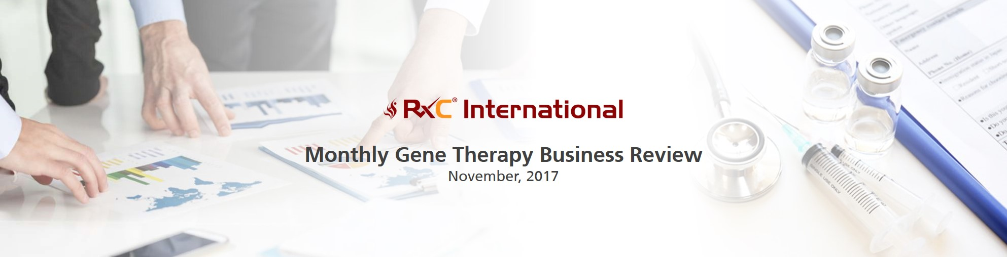 RxC International Gene Therapy Business Review November Newsletter