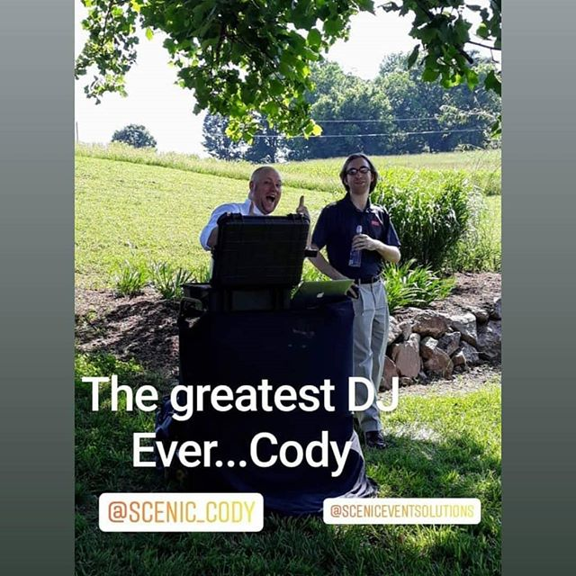 We got so much love from @lynngrandofficiant for @scenic_cody s wedding today at @barneventcenterofthesmokies 💙💙💙 thanks! We hope to work with you again soon!! . . . . . #sundayfunday #weddingday #weddingdj #scenicevents #scenicevent #makeitascenicevent #danceparty #dancefloor #party #weddings #wedding #weddingplanning #inatawedding #engaged #Chattanooga #chattanoogaweddings #love #lovewhatyoudo #sceniceventsquad