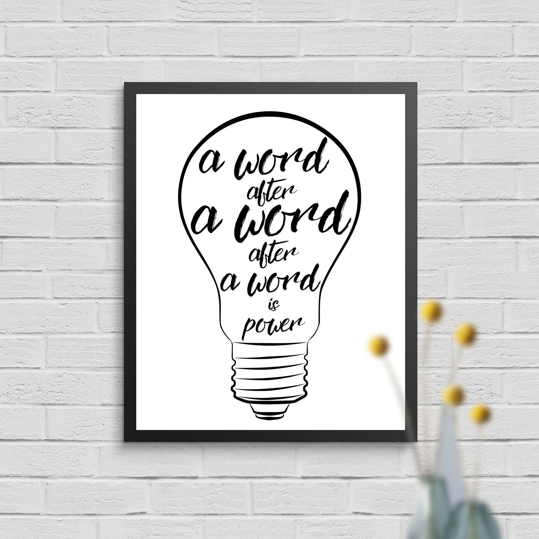 Click the image to shop this print. I hope it reminds you of the power of stories, and inspires you to listen to more, and to tell your own.