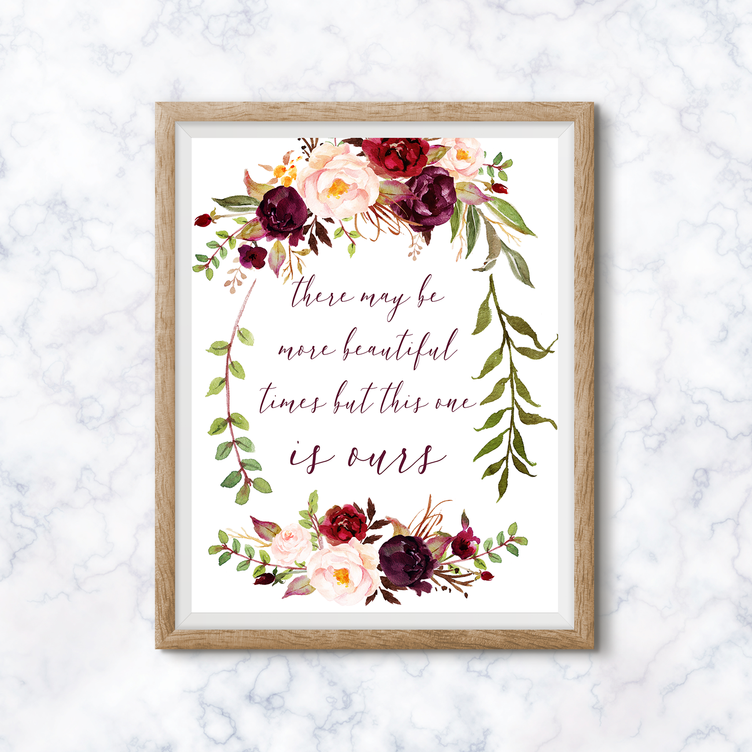 Click the image to shop this print, now available in all sizes. I hope it reminds you to breathe in each moment before it passes.
