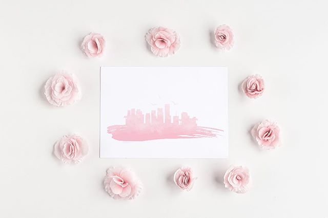 Just made a new line of watercolor cityscapes perfect for adding a reminder of your favorite city to your home or sending a reminder to someone you love.