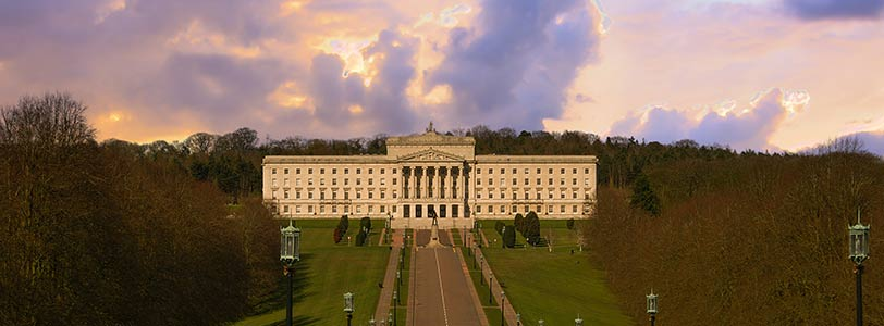 Stormont, the Northern Ireland Parliament Buildings  (Courtesy of  The Planner , 2017).