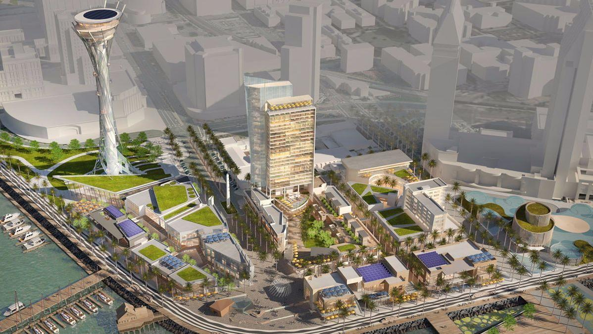 Seaport San Diego would replace Seaport Village. (San Diego Unified Port District)