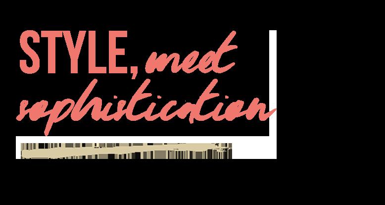 SAVINA - Style Meet Sophistication