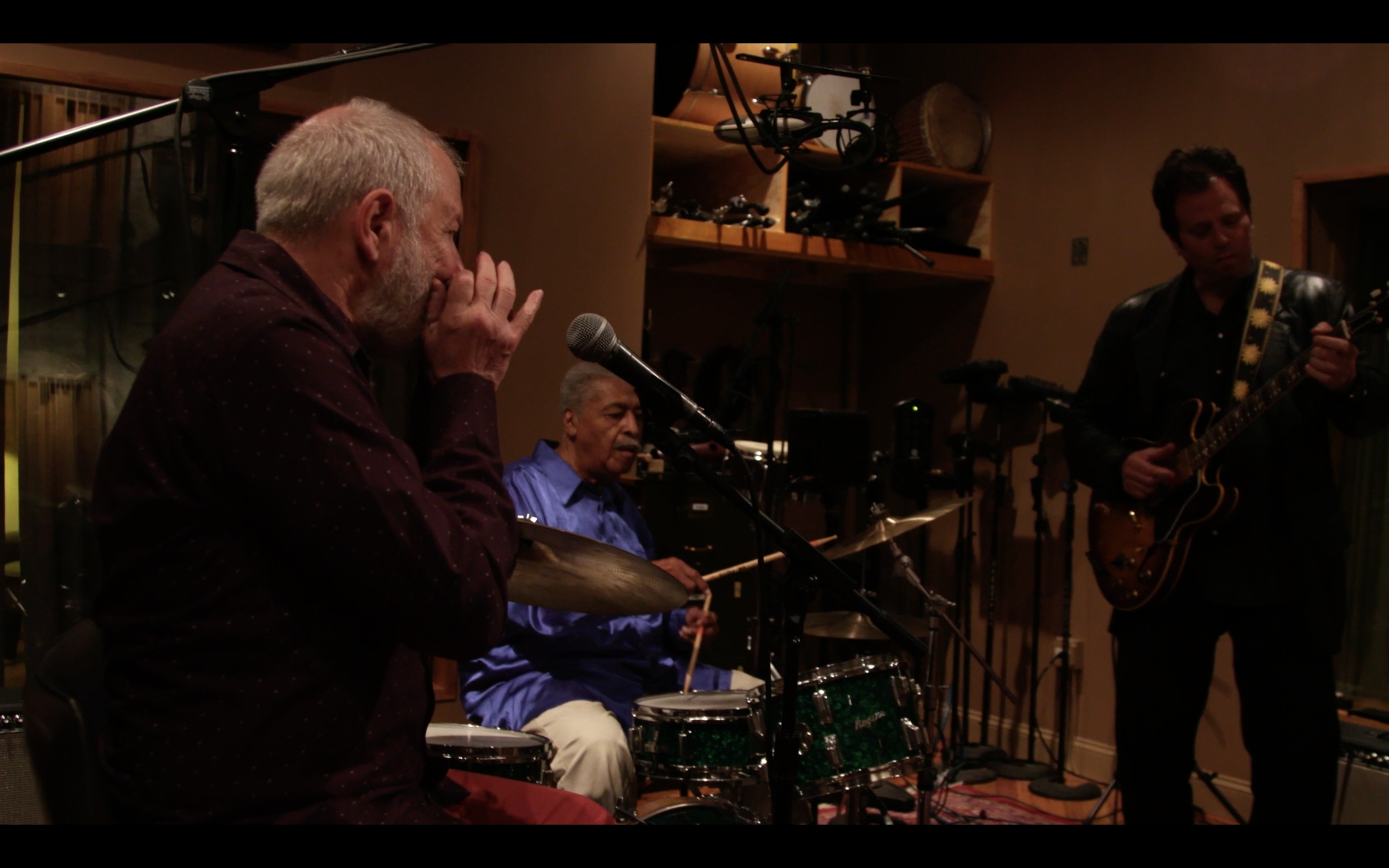 Podcast Video: Sam Lay and Corky Siegel join Dave for an interview and jam session in the SPACE studios. -