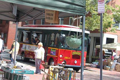Salem Trolley photo by Constance Hoar