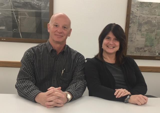 Jeff Witt, Director of Utilities and  Merry Rankin, Director of Sustainability  at Iowa State University