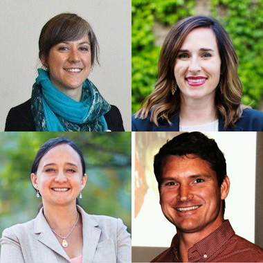 (top)  Jillian Buckholz, Mackenzie Crigger  (bottom)  Nurit Katz, Joseph Fullerton